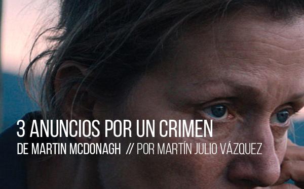 3 anuncios por un crimen de Martin McDonagh