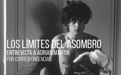 Los límites del asombro. Entrevista a Adrian Martin