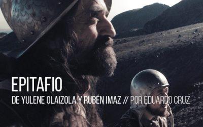 Epitafio de Yulene Olaizola y Rubén Imaz
