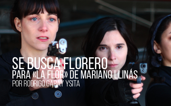 FICUNAM 2019: Se busca florero. Para La flor de Mariano Llinás