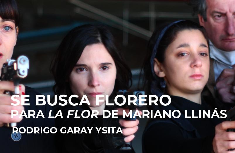 FICUNAM 2019: Se busca florero. Para «La flor» de Mariano Llinás