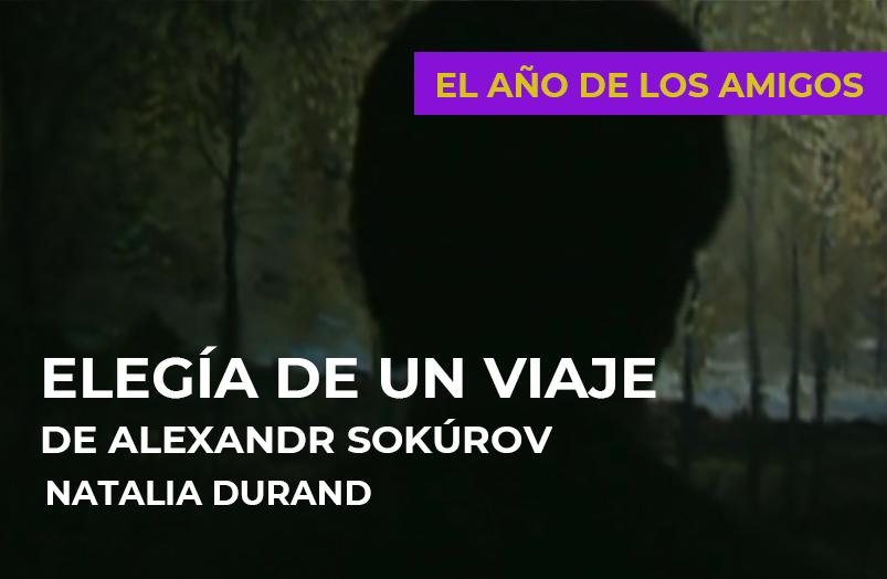 El año de los amigos: Elegía de un viaje de Alexandr Sokúrov
