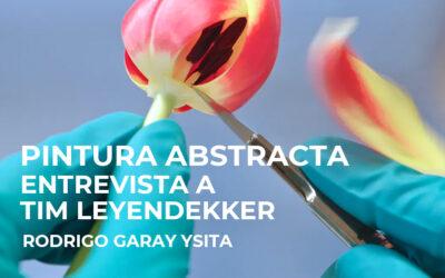 Pintura abstracta: Entrevista a Tim Leyendekker